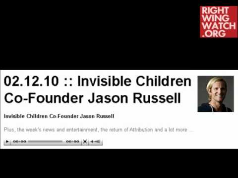 Kony 2012 director Jason Russell on the religious basis of Invisible Children