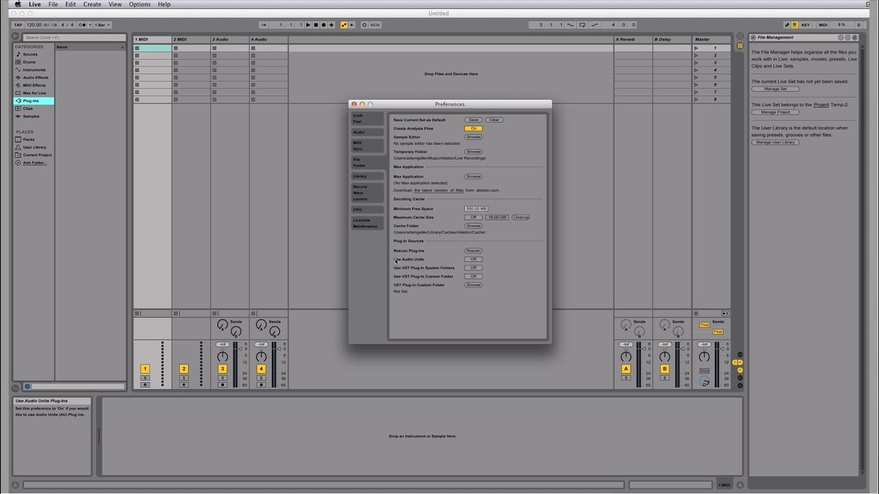 Plugins not showing up in Ableton Live FIX
