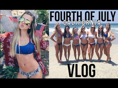 VLOG: Fourth of July in Cali || SA