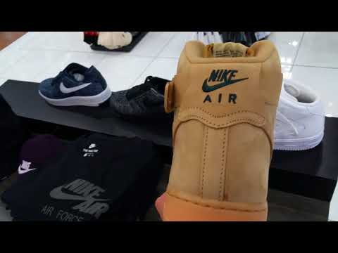Latest Nike Air Force Af1 Hi Lv8 Sneakers Kicks Shoes October
