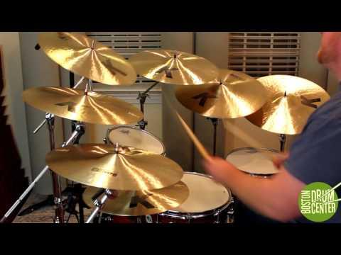 Zildjian K Dark Thin Crashes: 15