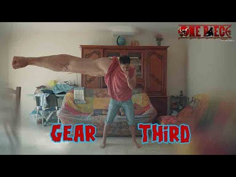 GEAR THIRD - One piece real life