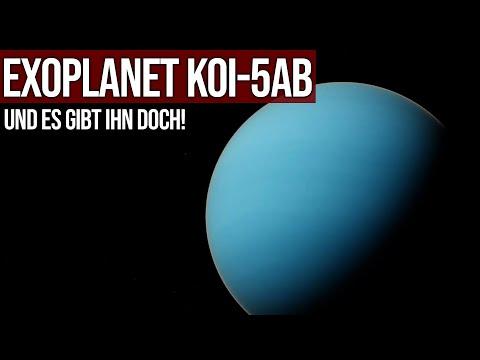 Exoplanet KOI-5Ab - Und es gibt ihn doch