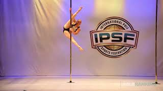 Elise Dahl Hansen - IPSF World Pole Championships 2018