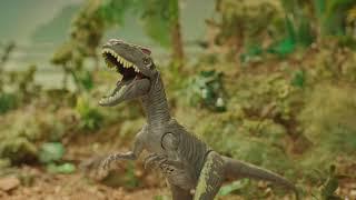 ジュラシック恐竜を使って楽しく遊ぼう! 映画『ジュラシック・ワールド』公式のジュラシック恐竜のおもちゃを手に入れて、スマートフォンやビデオカメラでオリジナルバトル画像/ ...