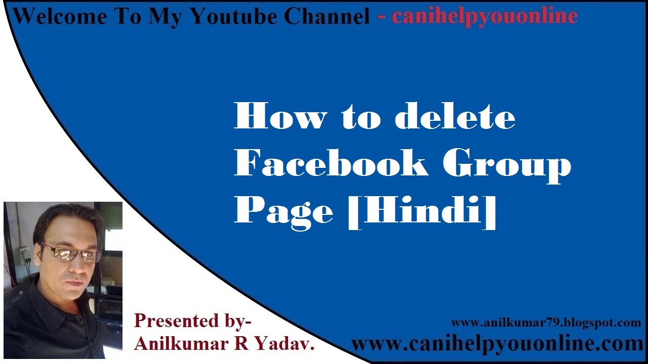 How to delete facebook group page hindi youtube how to delete facebook group page hindi ccuart Choice Image
