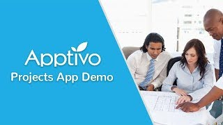 Free Online Project Management - Demo Of Apptivo Projects App