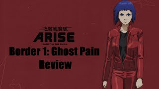 Ghost in the Shell Arise: Ghost Pain - Review
