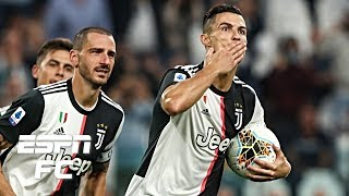 Cristiano Ronaldo and Aaron Ramsey score for Juventus in win vs. Hellas Verona | Serie A Highlights