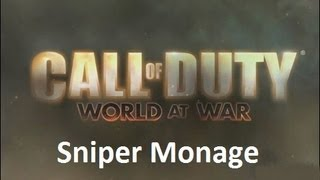 Call of Duty 5: Sniper Montage