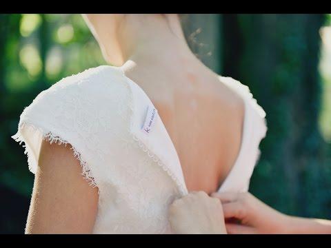 vidéo de la collection 2016 de robes de mariée kaa couture. créatrice sur mesure à Lyon
