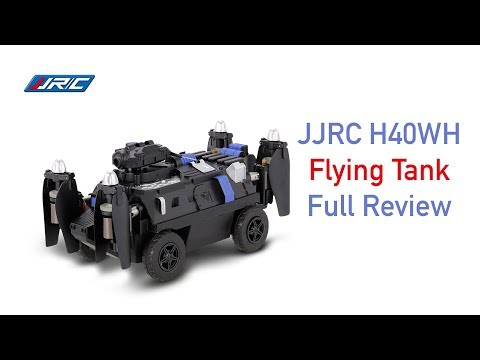Drone Review - JJRC H40WH Flying Tank