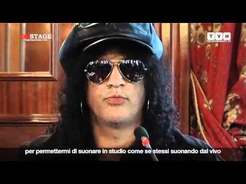 Slash presenta Apocalyptic Love intervista di Onstage