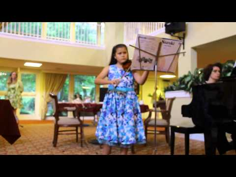 Isabella Alexandra - Solo Violin 5th Season Final Performance:  French Baroque Gavotte - J.B. Lully