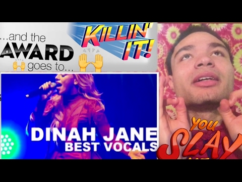 "DINAH JANE(Fifth Harmony) ""Best Vocals"" REACTION !!"