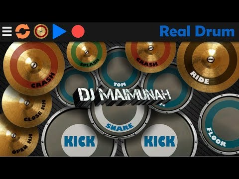 DJ Maimunah ( Real Drum Cover By FURQONFAUZI )