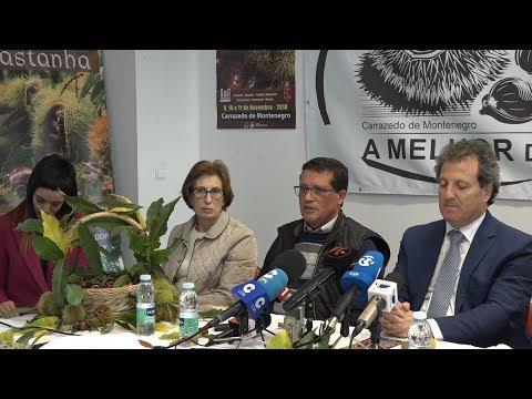 ONDA LIVRE TV - Apresentação da XXII Feira da Castanha Judia de Carrazedo de Montenegro