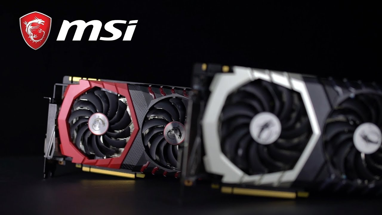 GeForce® GTX 1070 Ti Titanium – Play Hard, Stay Silent| MSI