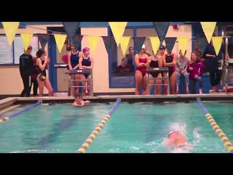Belfast Area High School hosts swim meet
