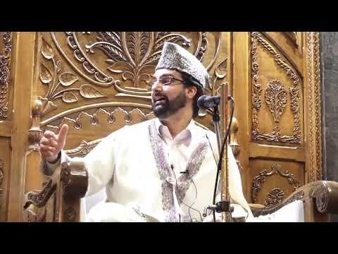 Mirwaiz Umar Farooq reciting Rasool e Khuda S.A.W Bai Misaal Allah Allah