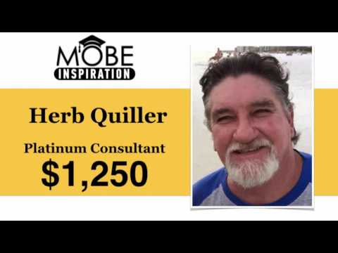 Platinum Consultant Herbert Quiller has a Great Start to his Day!