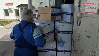 На Камчатку поступили средства индивидуальной защиты для врачей.