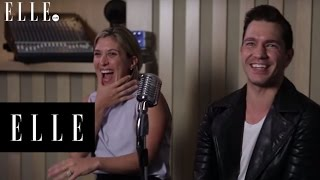 How to Beatbox with Andy Grammer | ELLE