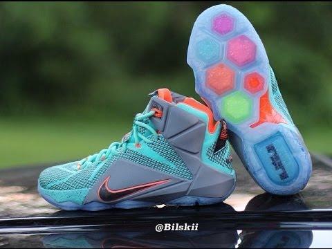 Nike LeBron 12 (XII) - YouTube