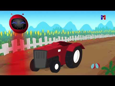 tracteur | formation et utilisations | enfants vidéo | Farm Vehicles | Formation And Uses | Tractor