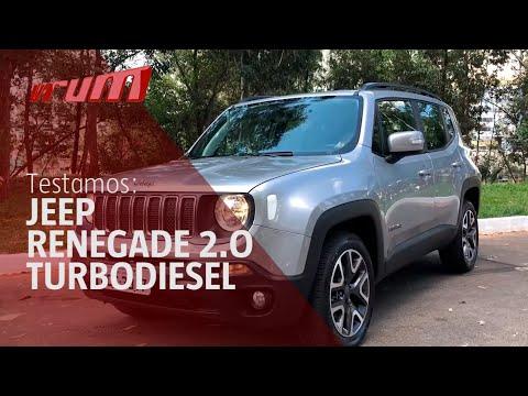 Avaliação Jeep Renegade 2.0 turbodiesel 2019/ Programa Vrum