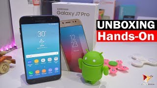 Samsung Galaxy J7 Pro Unboxing & First Impression | Data Dock