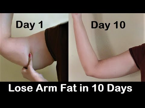How to Lose Arm Fat – Get rid of Flabby Arms in 1 WEEK, Easy exercise to reduce arm fat