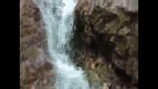 Водопад Ширлак за Белым бомом Горный Алтай