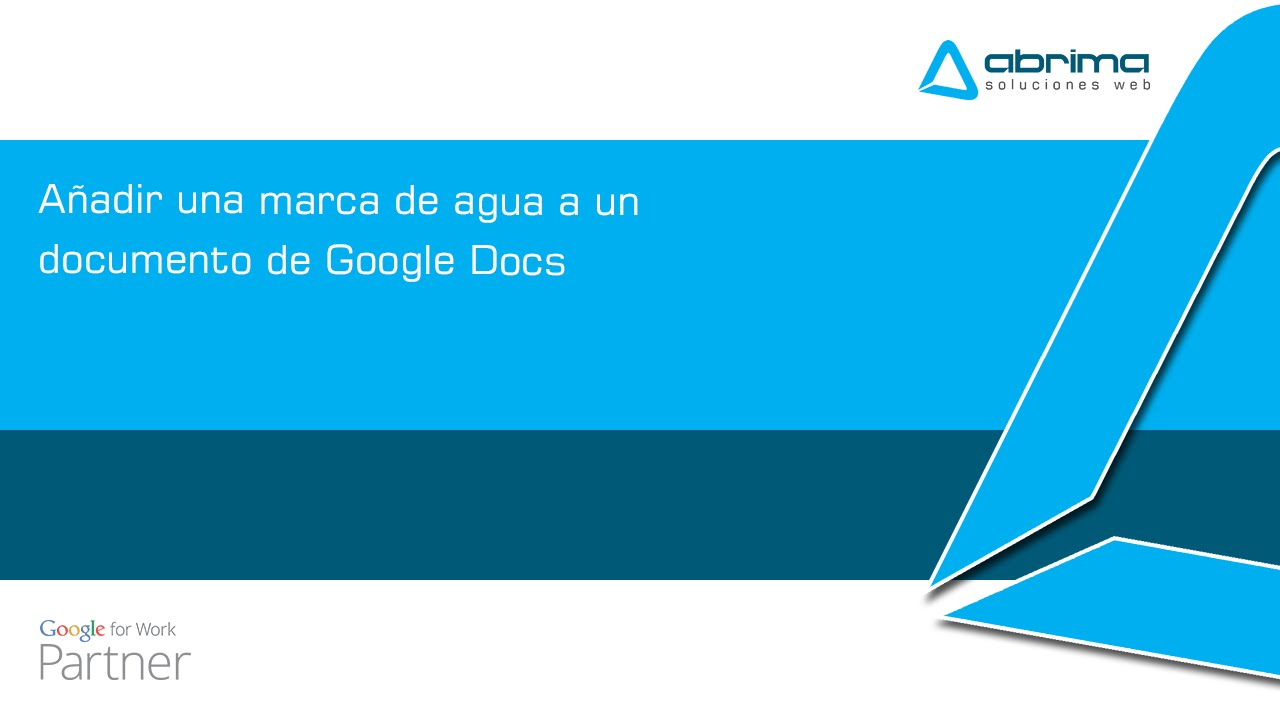 Añadir una marca de agua a un documento de Google Docs - YouTube