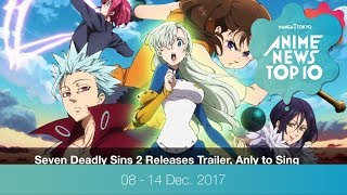 This Week's Top 10 Most Popular Anime News (8-14 December 2017) thumbnail