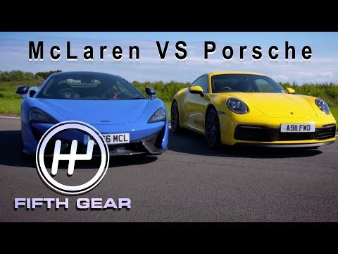 Mclaren 570S VS Porsche 911 - Supercar Dogfight | Fifth Gear