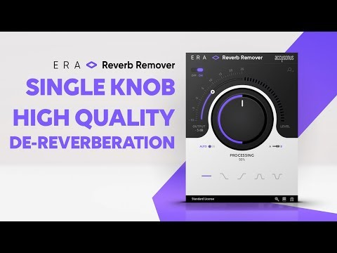 ERA Single Knob Audio Plugins - Fixing Audio Made Easy