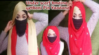 How to wear under scarf in 2 s…