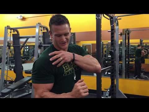 How to Workout with a Shoulder Injury- Avoid Rotator Cuff Pain
