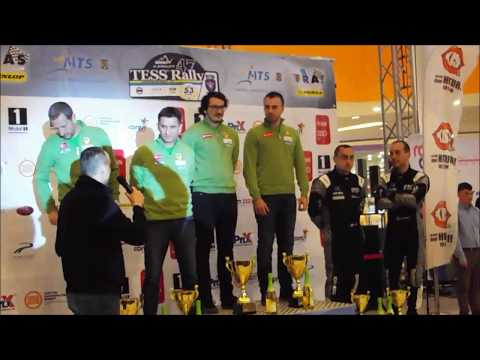 Tess Rally Brasov 2018  Festivitatea de premiere