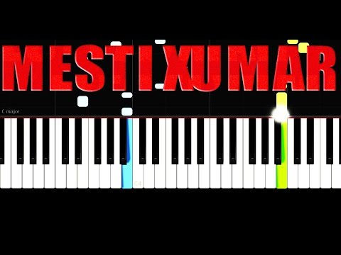 Mesti Xumar - Easy - Piano Tutorial by VN
