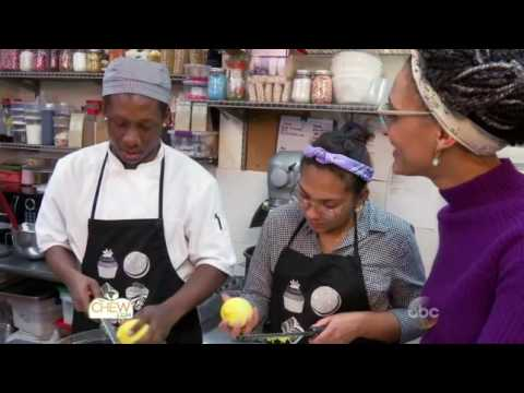 ABC's The Chew On Location with Carla Hall at Sweet Generation