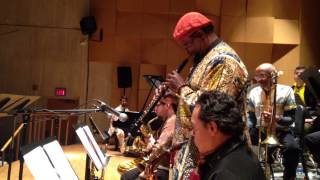 Dr. Salim Washington, oboe solo - The Red, Black and Green Revolutionary Eco-Music Tour