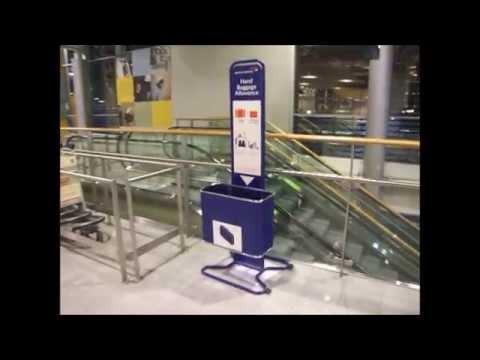 Helsinki Vantaa Airside Terminal 2 Tour (17-10-2015)