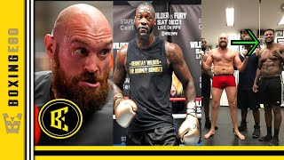 BREAKING! TYSON FURY TEAM USED CHEATING GLOVES IN SPARRING FOR DEONTAY WILDER CAMP CLAIMS FIGHTER!