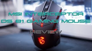 MSI Interceptor DS B1 Gaming Mouse Review