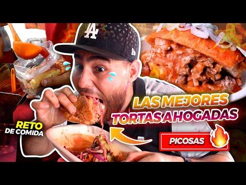 COMIENDO LAS MEJORES TORTAS AHOGADAS DE MÉXICO. En Guadalajara Jalisco