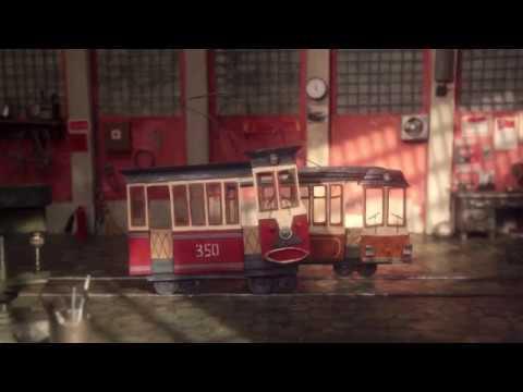 Два трамвая мультфильм светлана андрианова