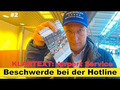 KLARTEXT: Airport Service Hamburg #2 | Beschwerde bei der Hotline | Der HON Circle