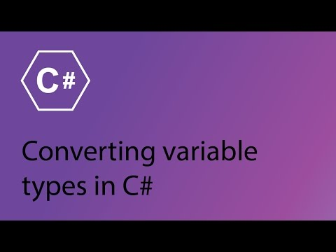 C# Programming Tutorial 6 - Converting variable types